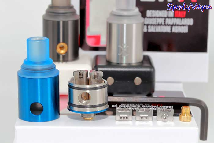 Digiflavor ETNA MTL RDA-适合尼古丁盐的口吸雾化器