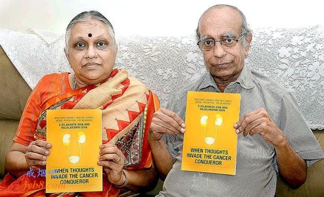 印度癌症幸存者出版了一本关于吸烟危害的书