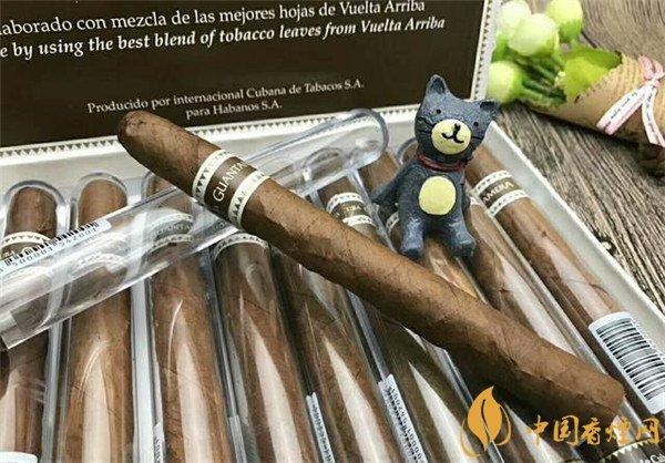 古巴雪茄烟关塔纳摩水晶筒雪茄好抽吗 淡香雅韵适用