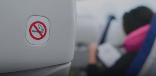 爱尔兰度假者因在飞机厕所酒后吸烟而被捕