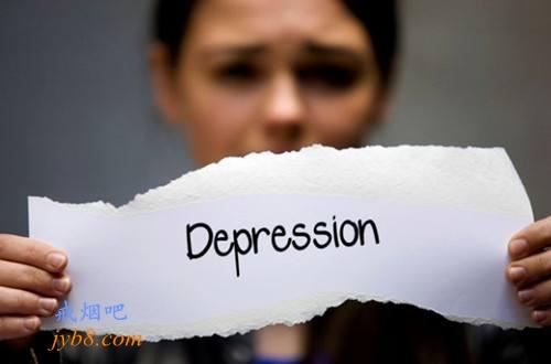 抑郁症的上升可能减缓了吸烟率的下降