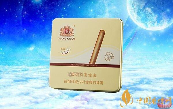 王冠雪茄(奶香)价格表图 王冠奶香雪茄价格多少