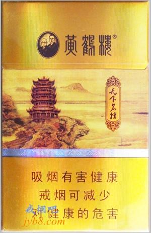 黄鹤楼(天下名楼)香烟价格图表
