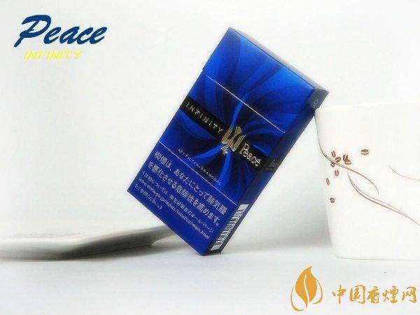 日本和平香烟价格表和图片 和平香烟100s硬蓝多少钱一包(35元)