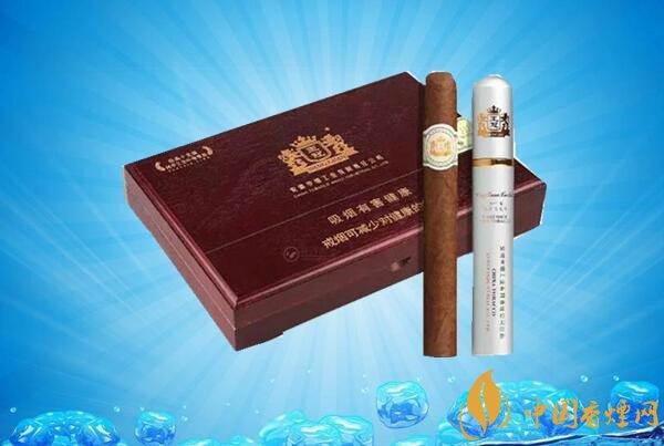 王冠雪茄(王冠全叶卷10支)价格表图 王冠雪茄全叶卷多少钱