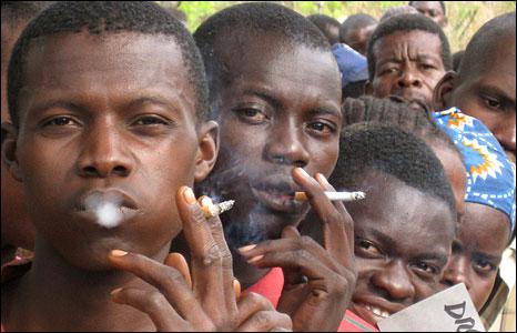 非洲和中东烟草使用上升 需要国家调高烟草税和烟草